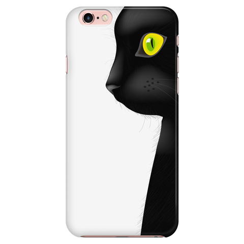 Black Cat - Cat Phone Case (iPhone only)