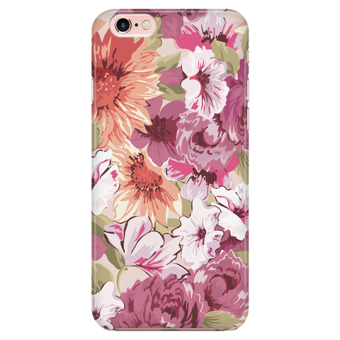 Retro Flowers - Phone Case (iPhone & Galaxy)