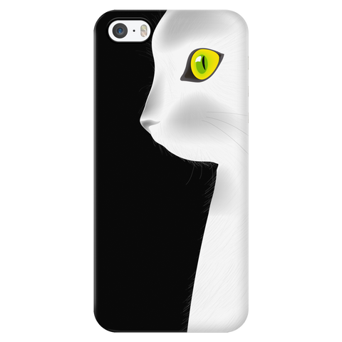 White Cat - iPhone Phone Case