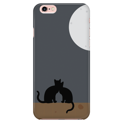 To the moon and back - Cat Phone Case
