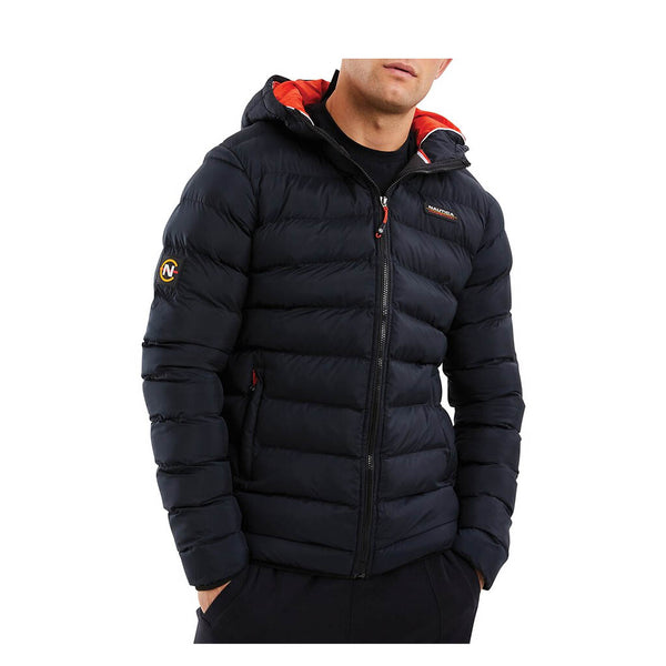 NAUTICA - MENS COMPETITION THWART PADDED JACKET BLACK