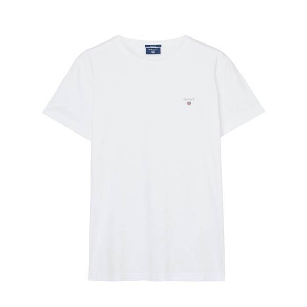 GANT - SOLID TEE WHITE