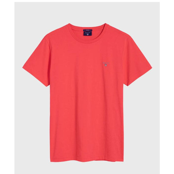 GANT - Solid T-Shirt WATERMELON RED