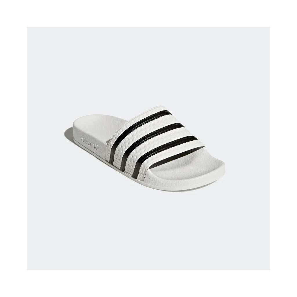 select for genuine save off new collection ADIDAS - ADILETTE SLIDES WHITE/BLACK