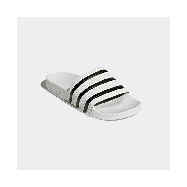 ADIDAS - ADILETTE SLIDES WHITE/BLACK