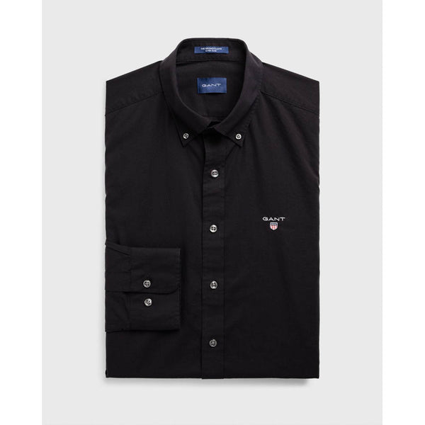 GANT - BROADCLOTH SLIM SHIRT 3046402 BLACK