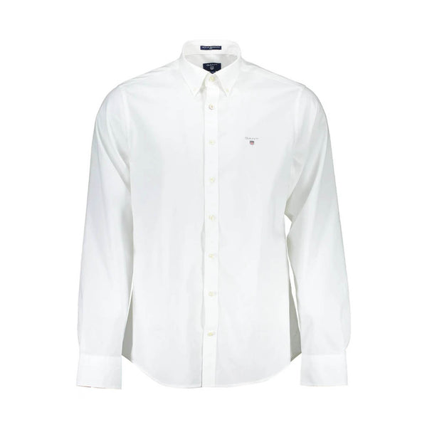 GANT - BROADCLOTH SLIM SHIRT 3046402 WHITE