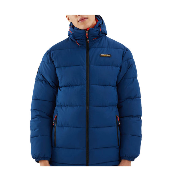 NAUTICA - MENS COMPETITION ANTIGUA PADDED JACKET NAVY