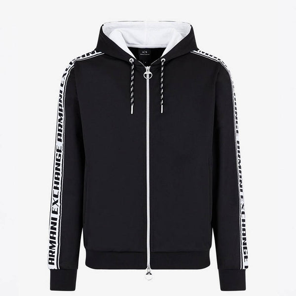 ARMANI EXCHANGE - MEN'S 3HZMFM HOODY BLACK
