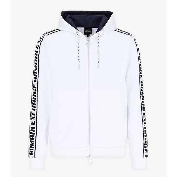 ARMANI EXCHANGE - MEN'S 3HZMFM HOODY WHITE