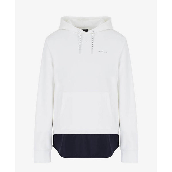 ARMANI EXCHANGE - MEN'S 3HZMLA BACK PRINT HOODY WHITE