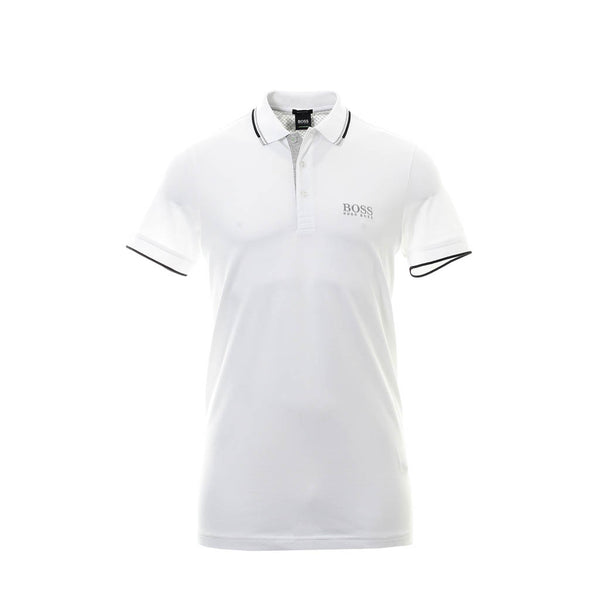 HUGO BOSS - MEN'S PADDY PRO POLO WHITE