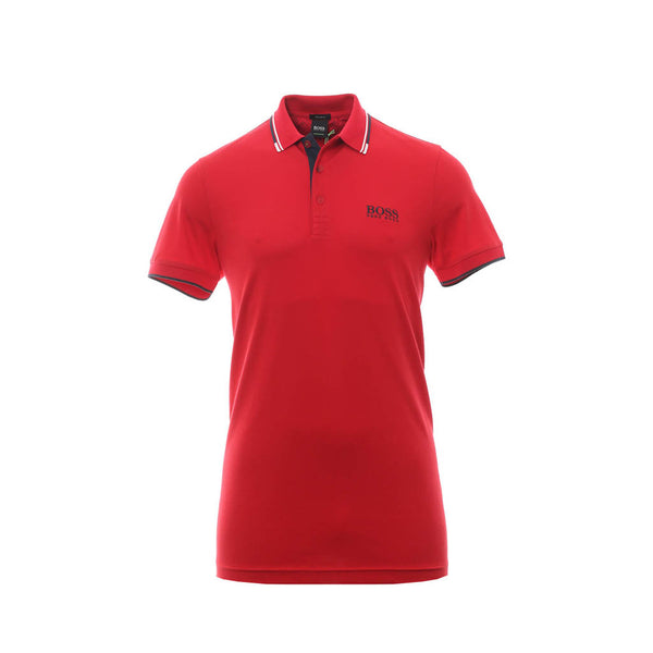 HUGO BOSS - MEN'S PADDY PRO POLO RED