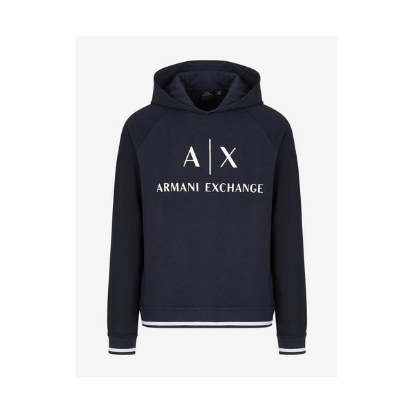 ARMANI EXCHANGE - MEN'S 6GZM79 HOODY NAVY