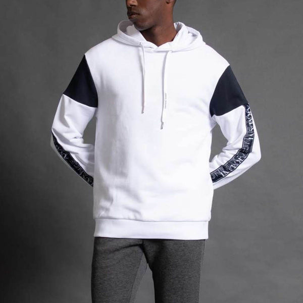 ARMANI EXCHANGE - MEN'S 6HZMFD HOODY WHITE