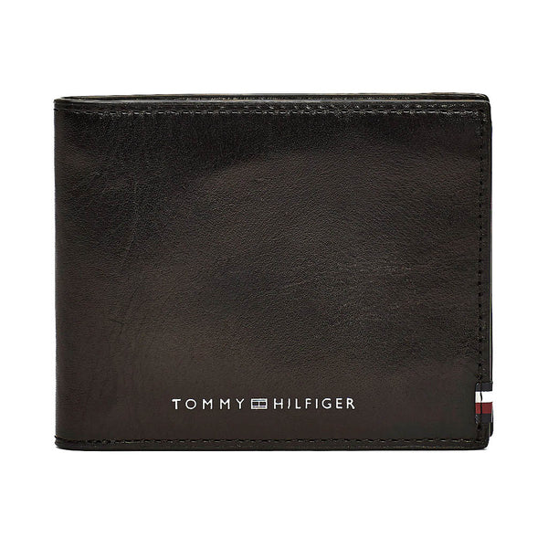 TOMMY HILFIGER - POLISHED LEATHER MINI CC WALLET