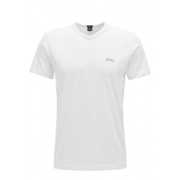 HUGO BOSS - V-NECK TEE WHITE