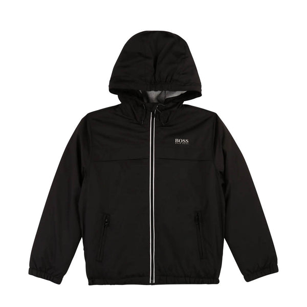 HUGO BOSS - BOYS J26389 JACKET BLACK