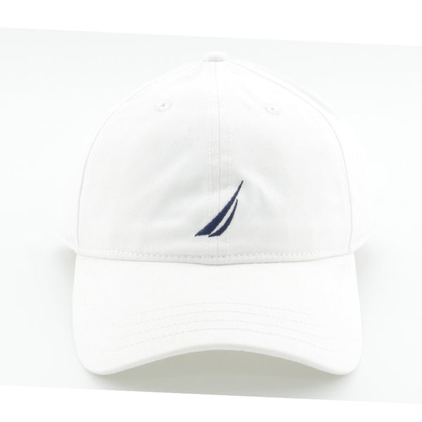 NAUTICA - 6 PANEL BUCKLE HAT WHITE