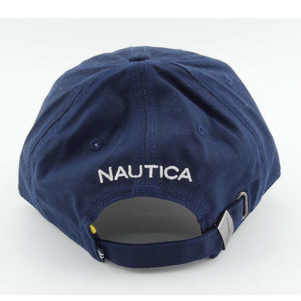 NAUTICA - 6 PANEL BUCKLE HAT NAVY - Urban Equipment f4e55fa2995