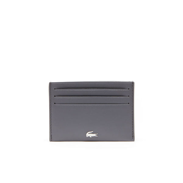 LACOSTE - CREDIT CARD HOLDER STEEL GREY