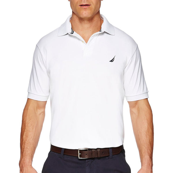 NAUTICA - SS SOLID DECK SHIRT BRIGHT WHITE