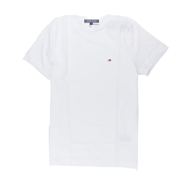 TOMMY HILFIGER - MAY CREW NECK TEE CLASSIC WHITE