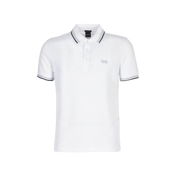 HUGO BOSS - PADDY POLO WHITE