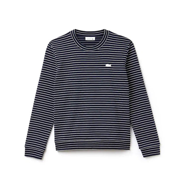 LACOSTE - WOMEN'S STRETCH COTTON INTERLOCK NAVY