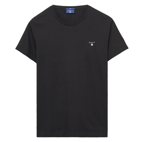 GANT - Solid T-Shirt Black