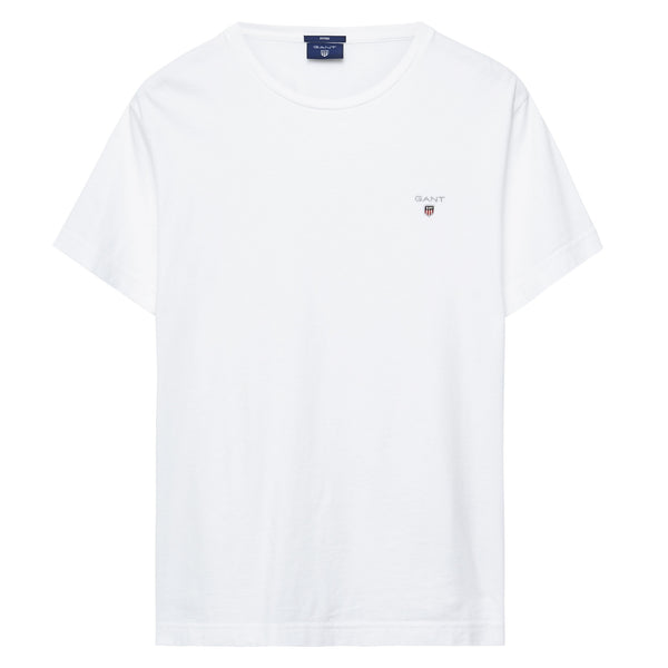 GANT - Solid T-Shirt White