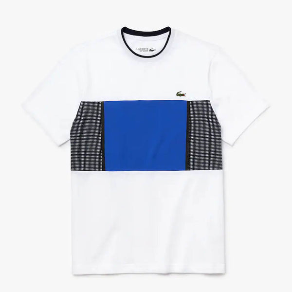 LACOSTE - MEN'S ULTRA LIGHT KNIT TEE WHITE