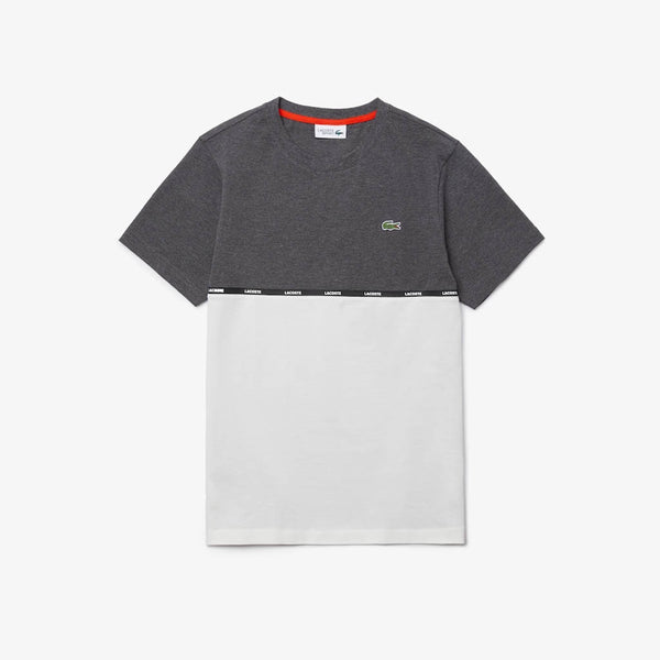 LACOSTE - MEN'S TH6257 T-SHIRT GREY