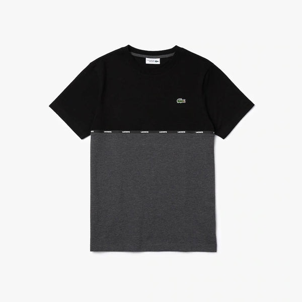 LACOSTE - MEN'S TH6257 T-SHIRT BLACK