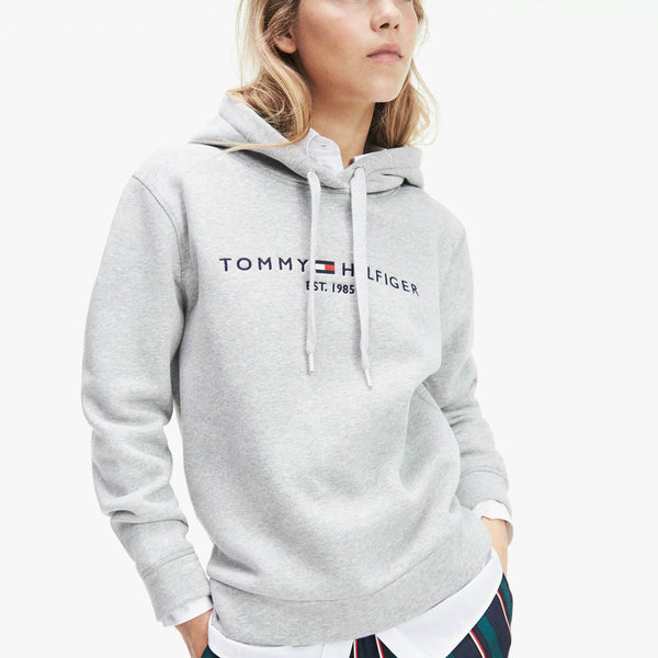 TOMMY HILFIGER - WOMEN'S TH ESS HILFIGER GREY