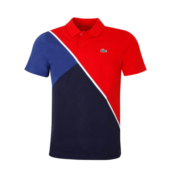 LACOSTE - MEN'S ULTRA LIGHT COTTON POLO RED