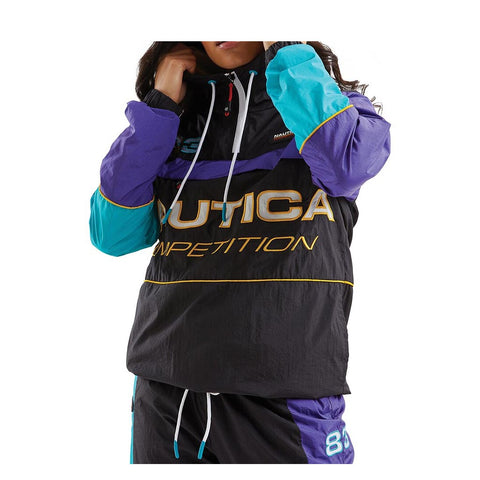 NAUTICA - WOMEN'S NAUTICA COMPETITION BEAM 1/4 ZIP SHELL JACKET