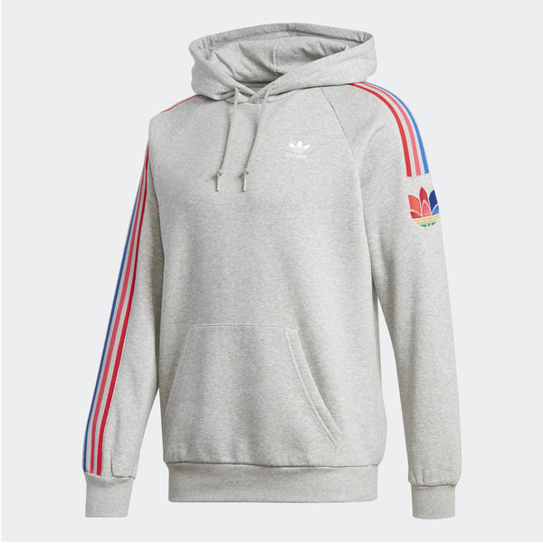 ADIDAS - MEN'S ADICOLOR 3D 3-STRIPES HOODIE GREY