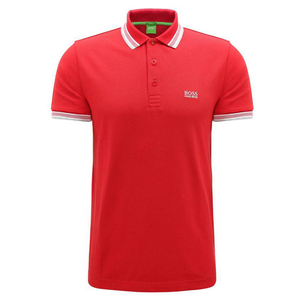 HUGO BOSS - PADDY POLO RED