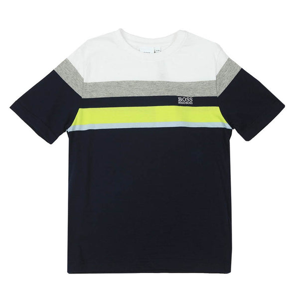 HUGO BOSS - BOYS J25G28 NAVY