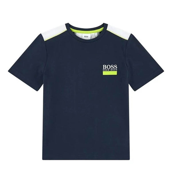 HUGO BOSS - BOYS J25G34 NAVY