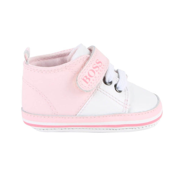 HUGO BOSS - J99060 BABY SHOES PINK