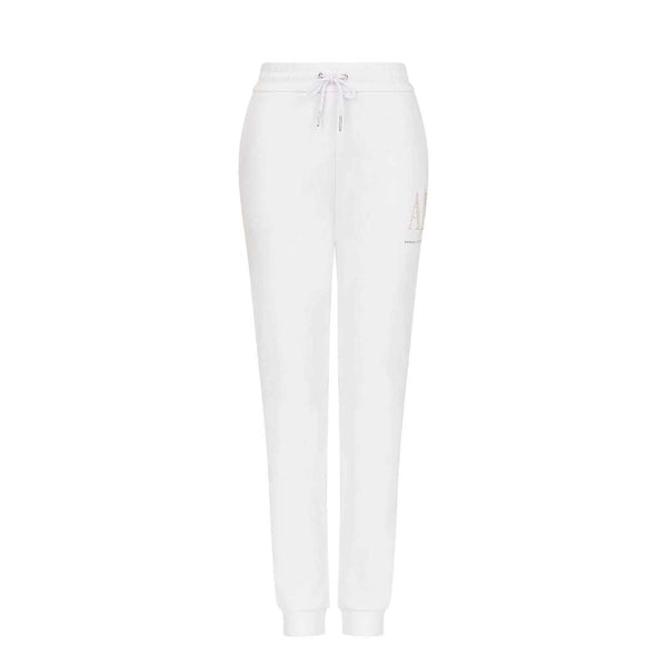 ARMANI EXCHANGE - WOMEN'S 8NYPDX TRACKPANT WHITE
