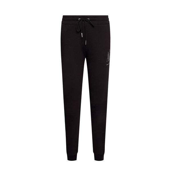 ARMANI EXCHANGE - WOMEN'S 8NYPDX TRACKPANT BLACK