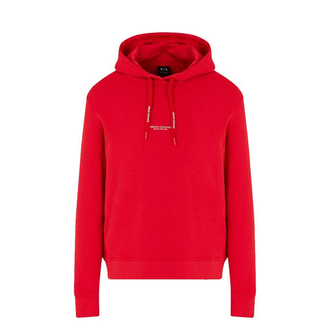 ARMANI EXCHANGE - MEN'S 8NZM94 HOODY RED