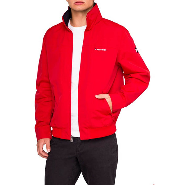 TOMMY HILFIGER - MEN'S YACHT JACKET RED
