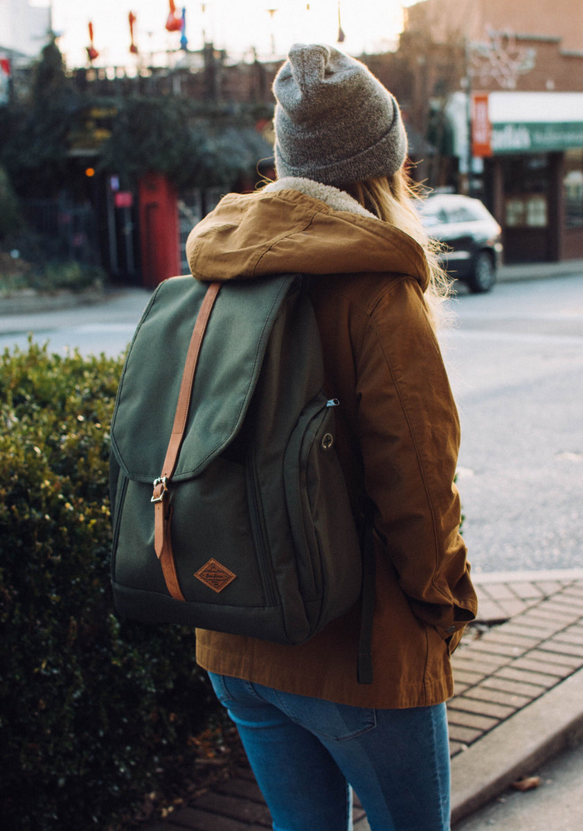 The backpack fits to everyday need!