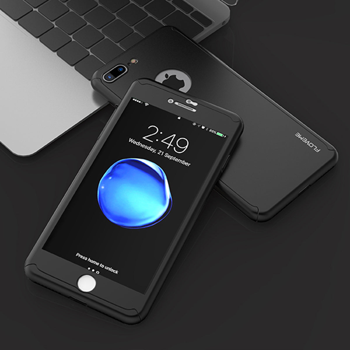Luxury 360° Full Protection iPhone Case