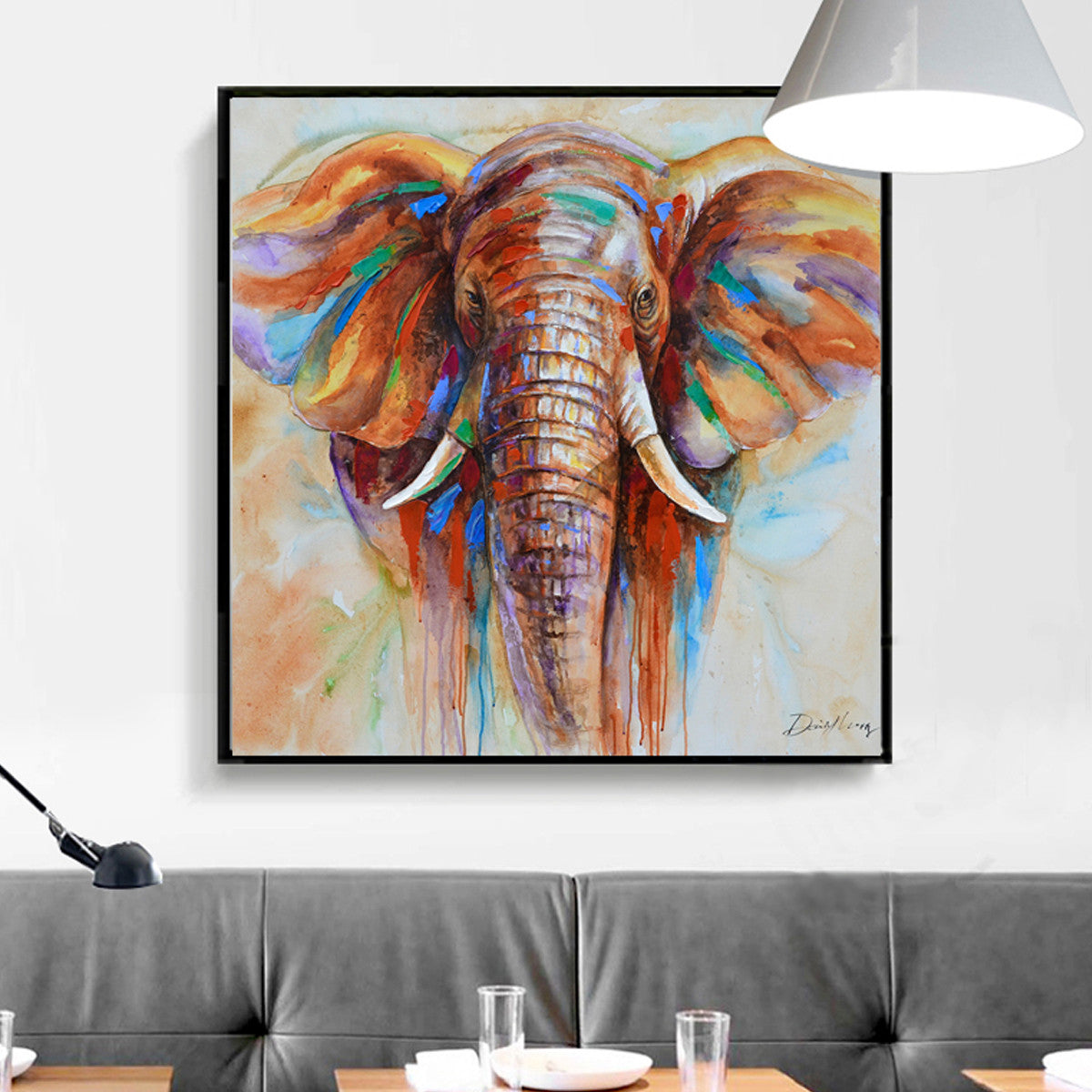 Limited Edition Elephant Canvas