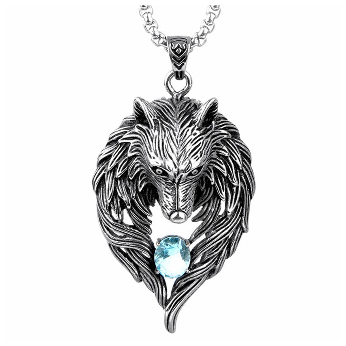 Wolf Necklace Totem